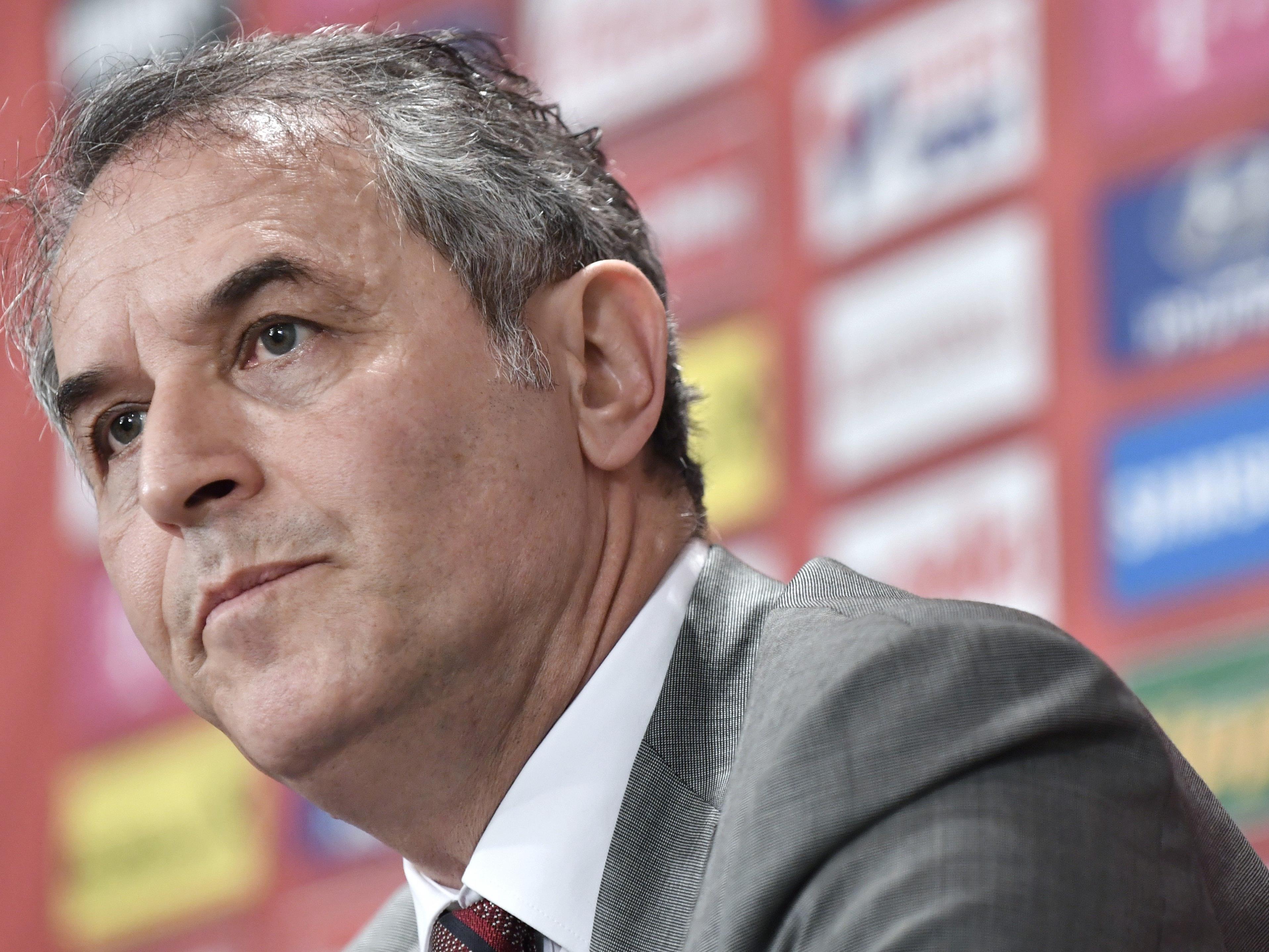 ÖFB-Teamchef Marcel Koller bereitet die Nationalmannschaft auf das Irland-Match vor.
