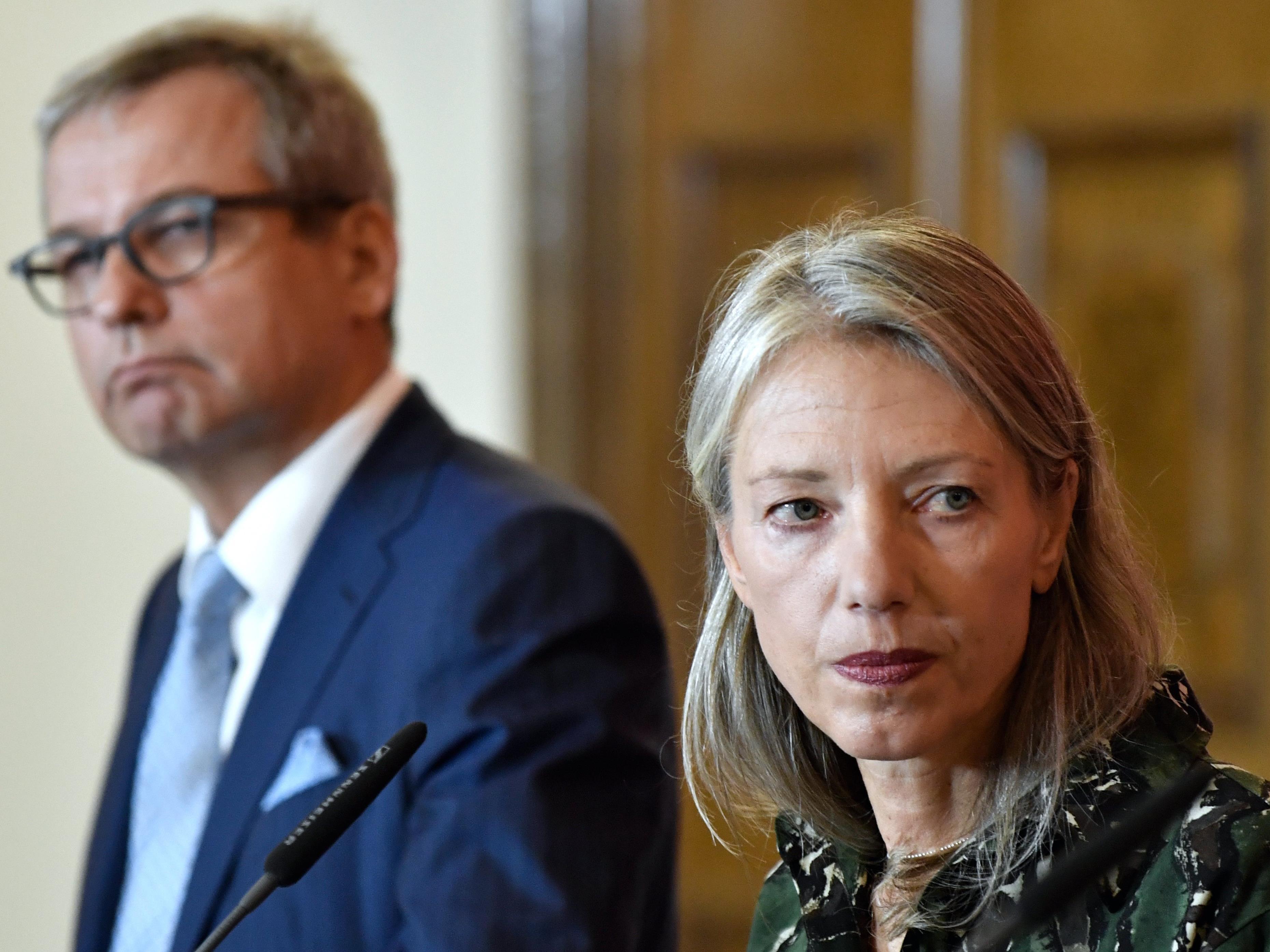 Wolfgang Bergmann und Stella Rollig, die neuen Chefs des Wiener Belvedere.