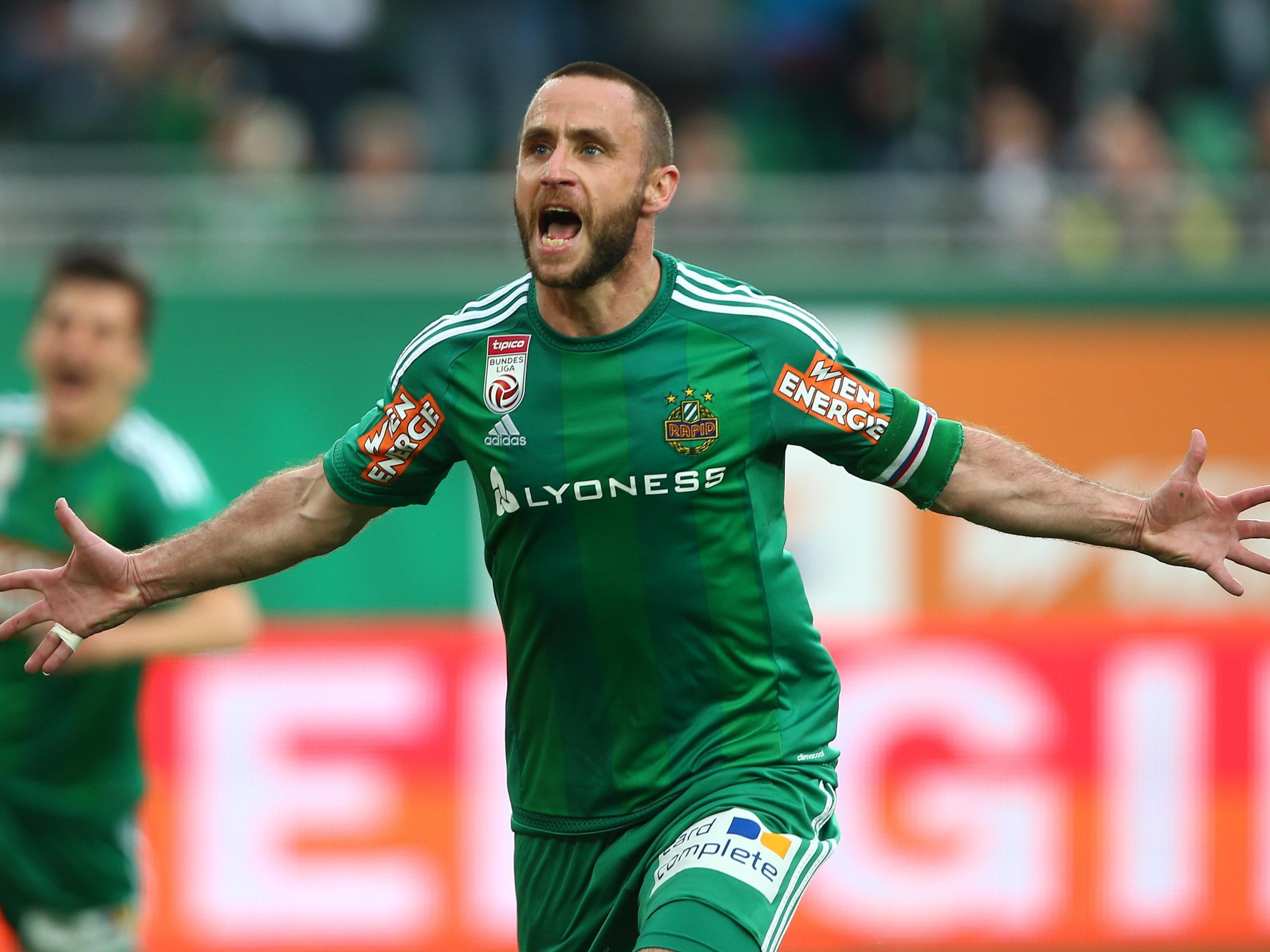 Steffen Hofmann hängt noch ein Jahr bei Rapid Wien dran.