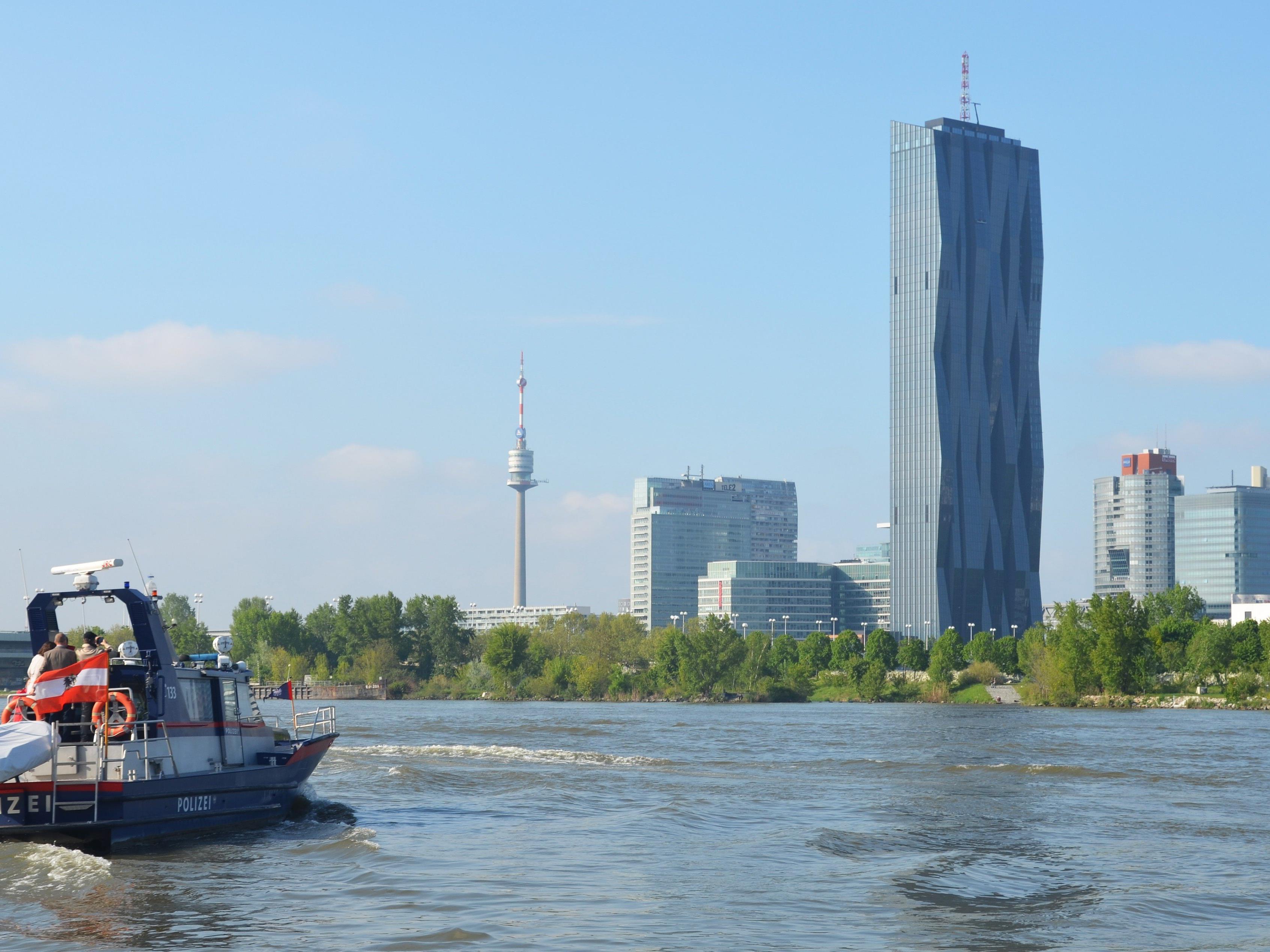 2.000 Einsätze fährt die Wiener Wasserpolizei jährlich.