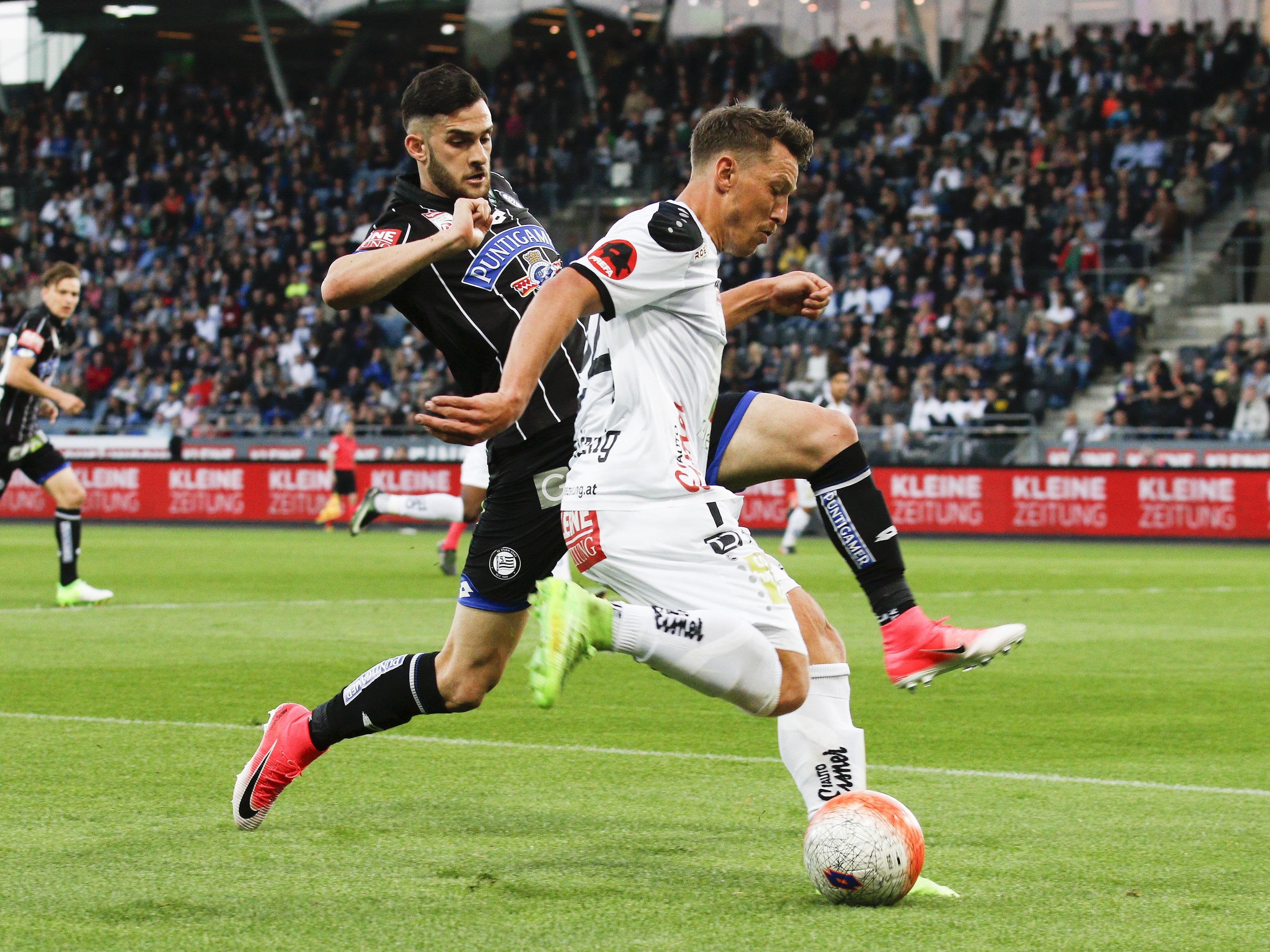 LIVE-Ticker zum Spiel WAC gegen Sturm Graz ab 16.30 Uhr.
