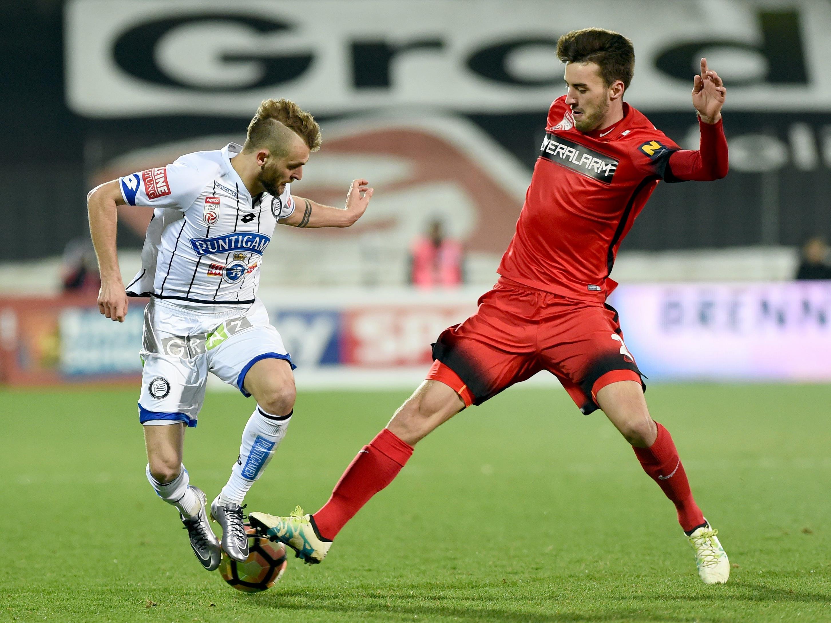 LIVE-Ticker zum Spiel SK Sturm Graz gegen FC Admira Wacker ab 16.30 Uhr.