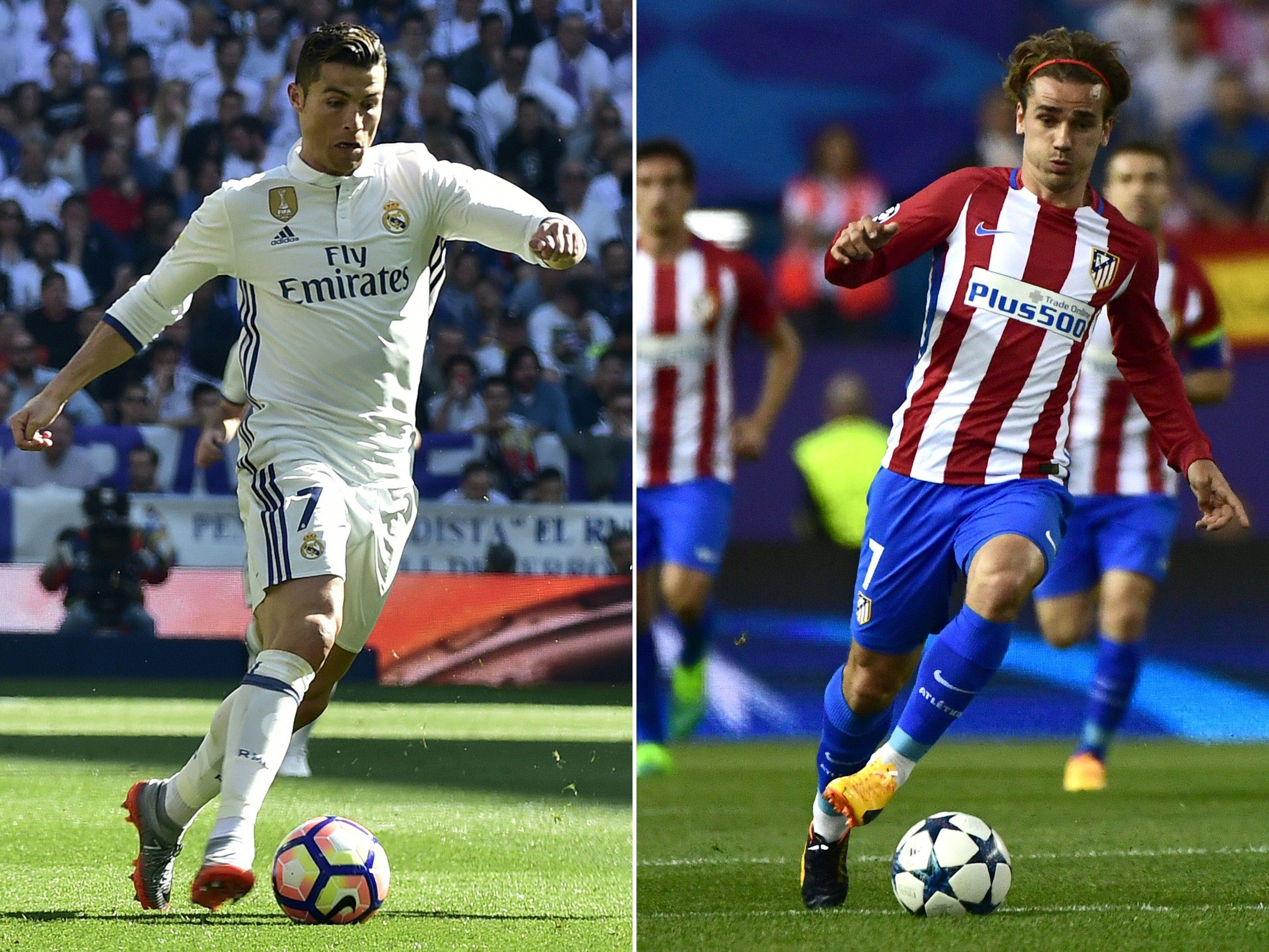 Real Madrid empfängt Atlético im Hinspiel des Halbfinales der UEFA Champions League.