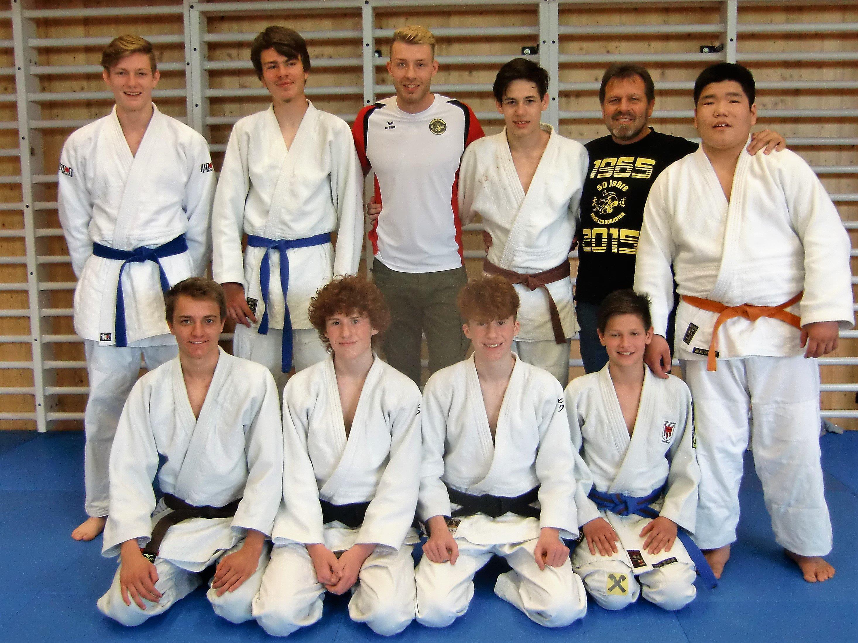 Siegreiches Jugend-Team Dornbirn
