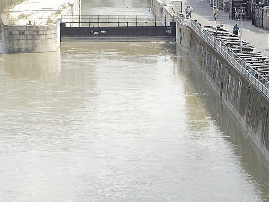 Eine Frau wurde aus dem Donaukanal gerettet