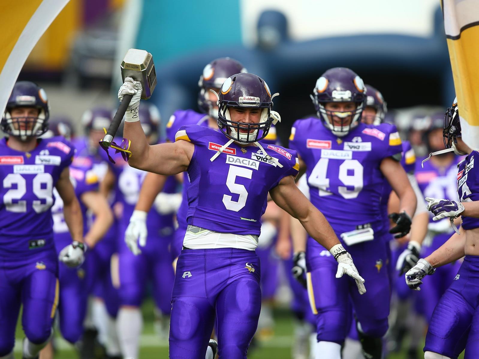 Die Vikings stehen nun an der Spitze der AFL.