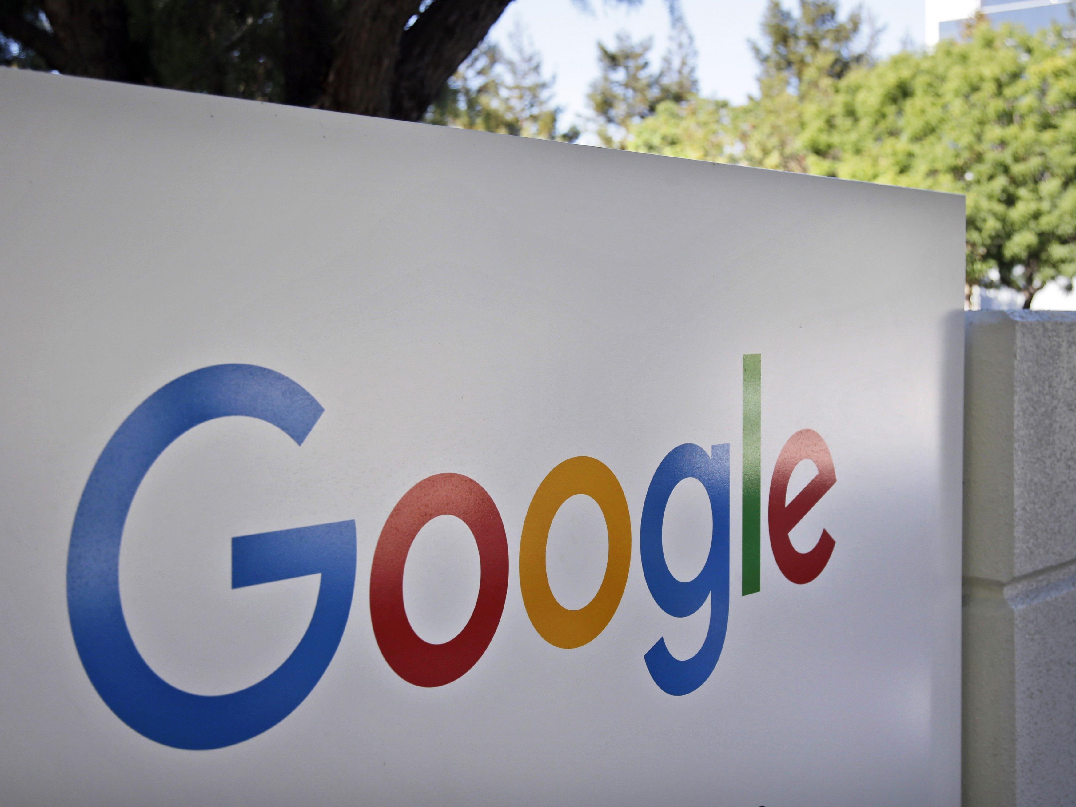 Phishing Attacke um Google