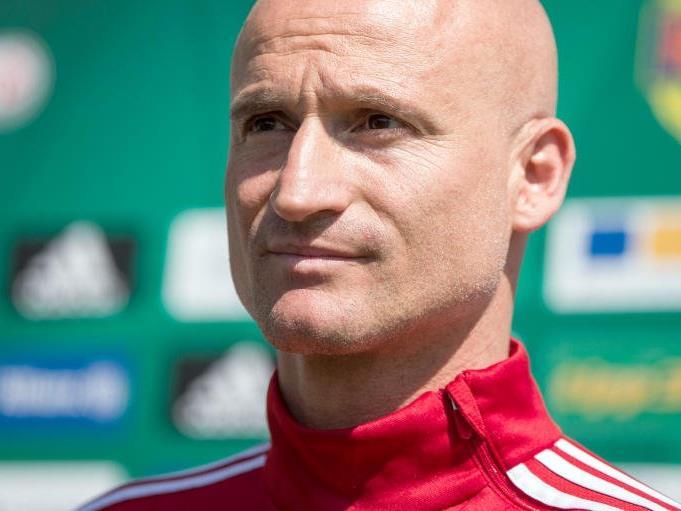Der neue interimistische Rapid-Trainer Goran Djuricin bleibt vorerst.