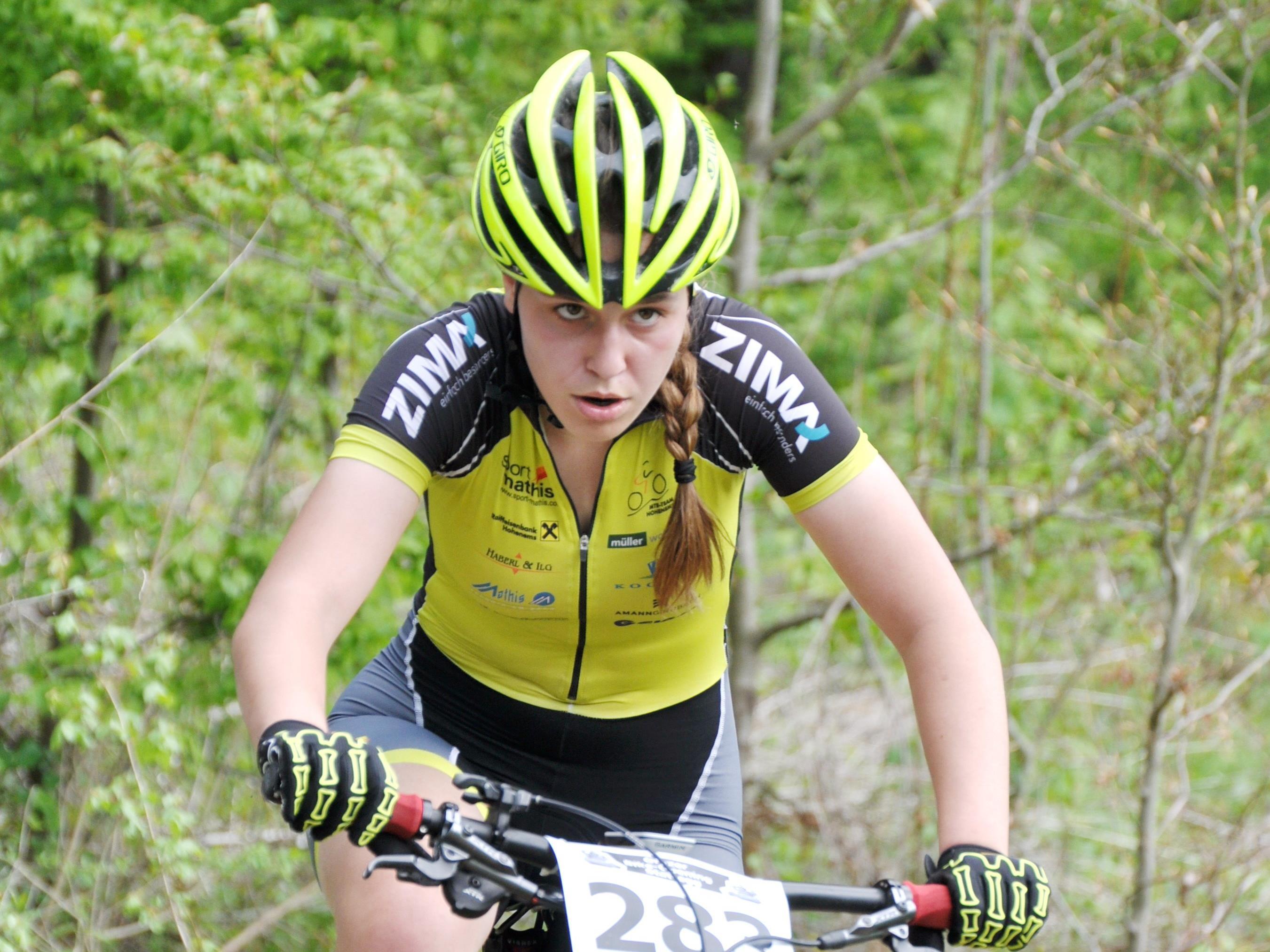 Ronja Lampert fuhr ein starkes Rennen