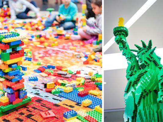 Bei der LEGO-Ausstellung im SCN gibt es einiges zu bestaunen
