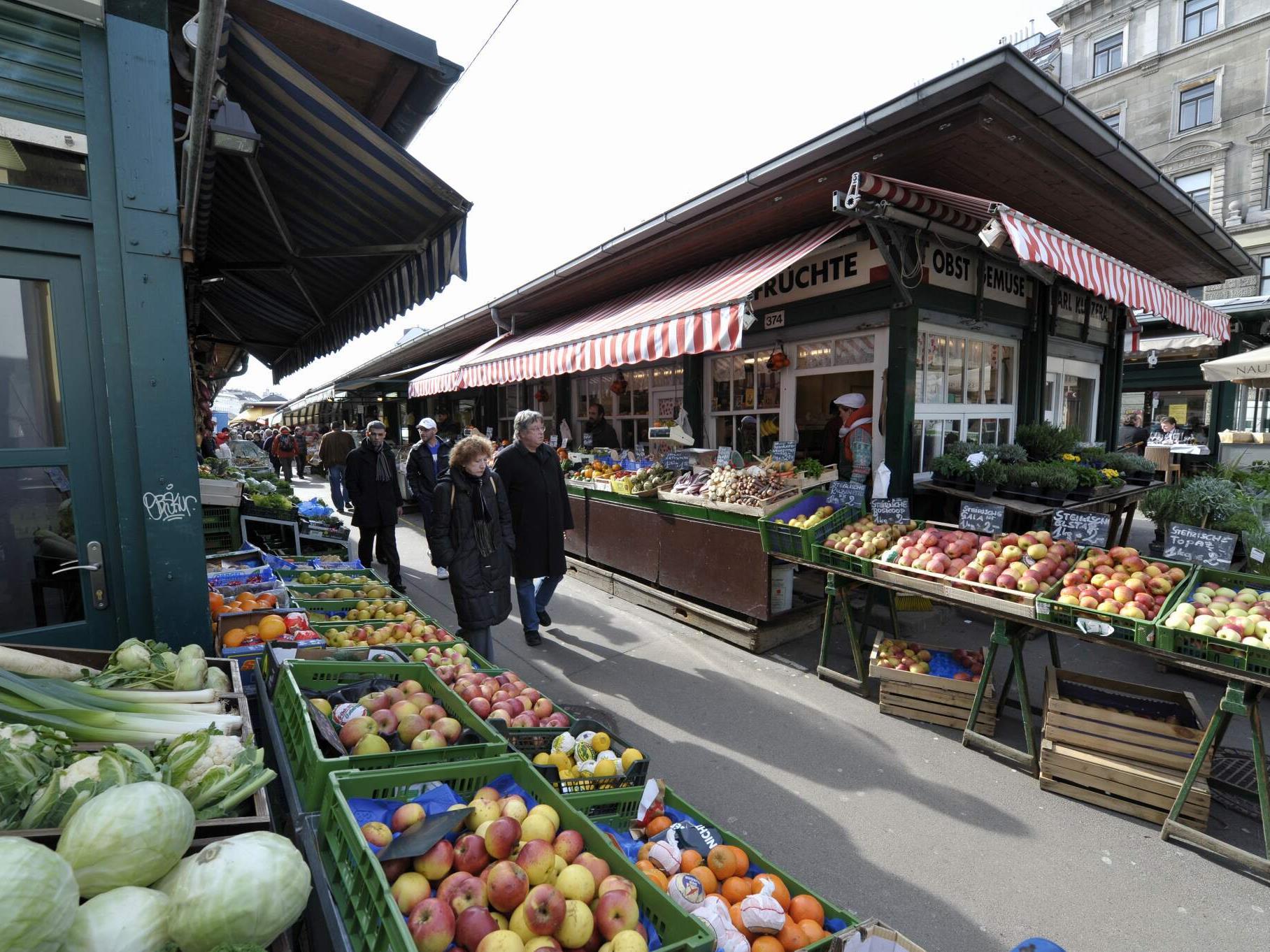 Unter anderem wird der Wiener Naschmarkt zum Musikmarkt