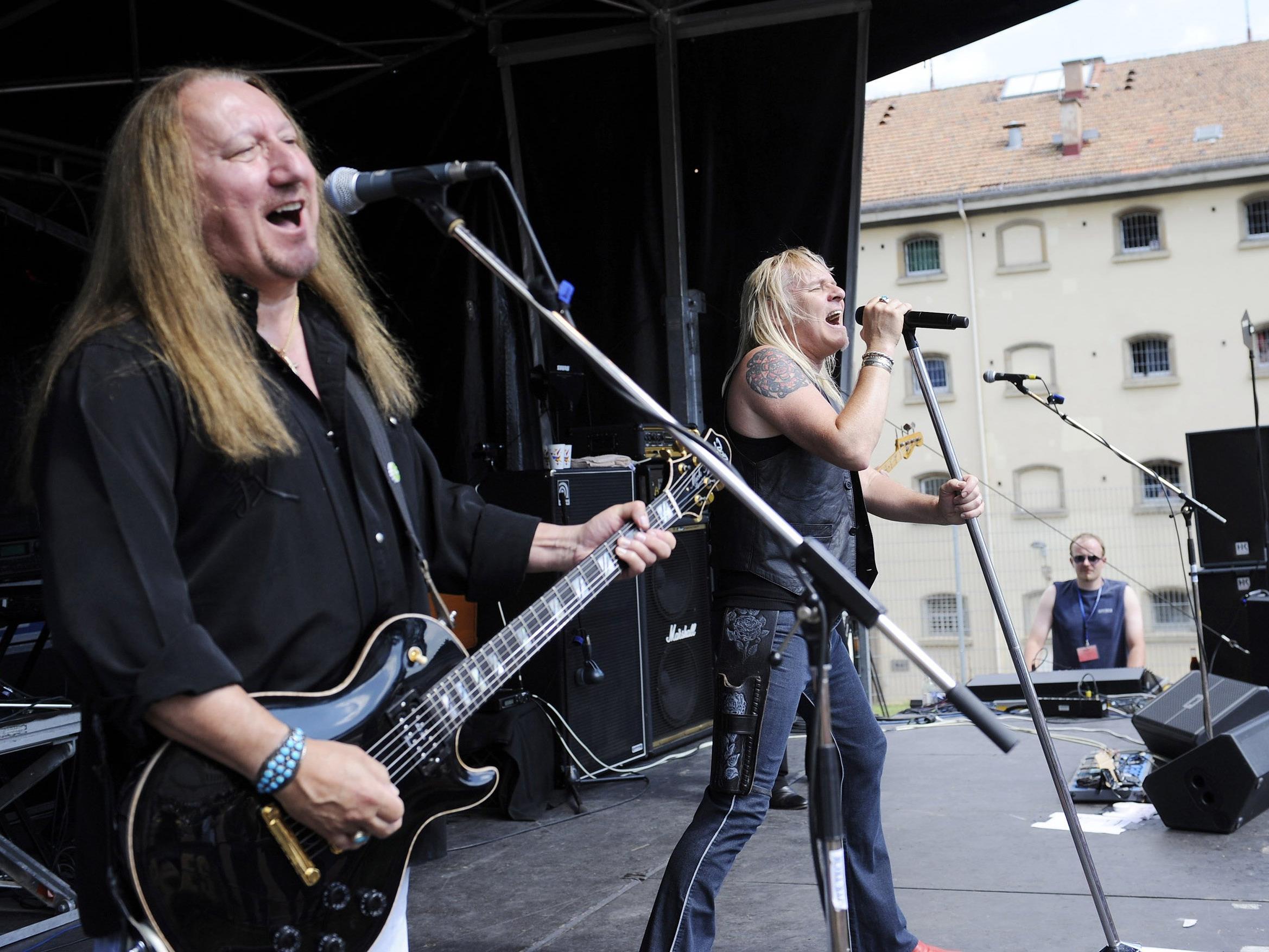 Uriah Heep treten am 7. Juli beim Clam Rock Festival 2017 in Oberösterreich auf.