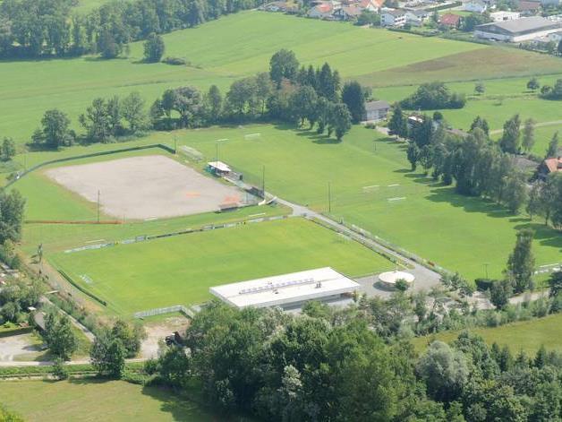"""Am Sportplatz Rohrbach bekommen die """"Dornbirn Indians"""" bis Ende 2017 einen eigenen Baseballplatz."""