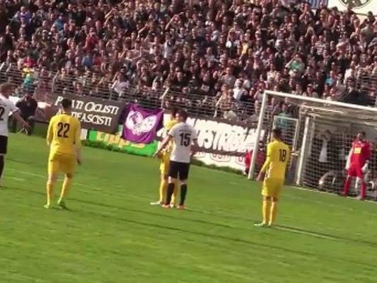 """Der Sportklub feierte im """"Derby of Love"""" einen knappen Sieg gegen die Vienna."""