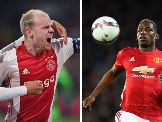 Ajax Amsterdam und Manchester United treffen im Finale der Europa League in der Friends Arena von Stockholm aufeinander.