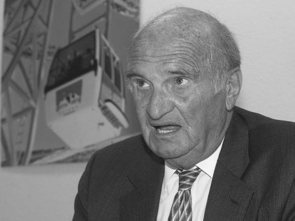 Kurz vor seinem 95. Lebensjahr verstorben: Artur Doppelmayr.
