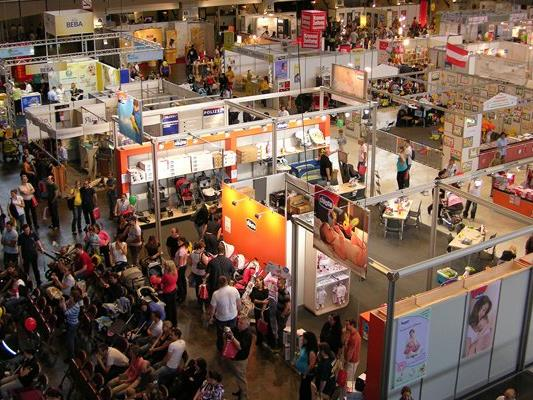 Die BabyExpo ist die größte Messe Österreichs für junge Familien.