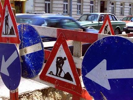 In Wien 15 stehen Bauarbeiten an