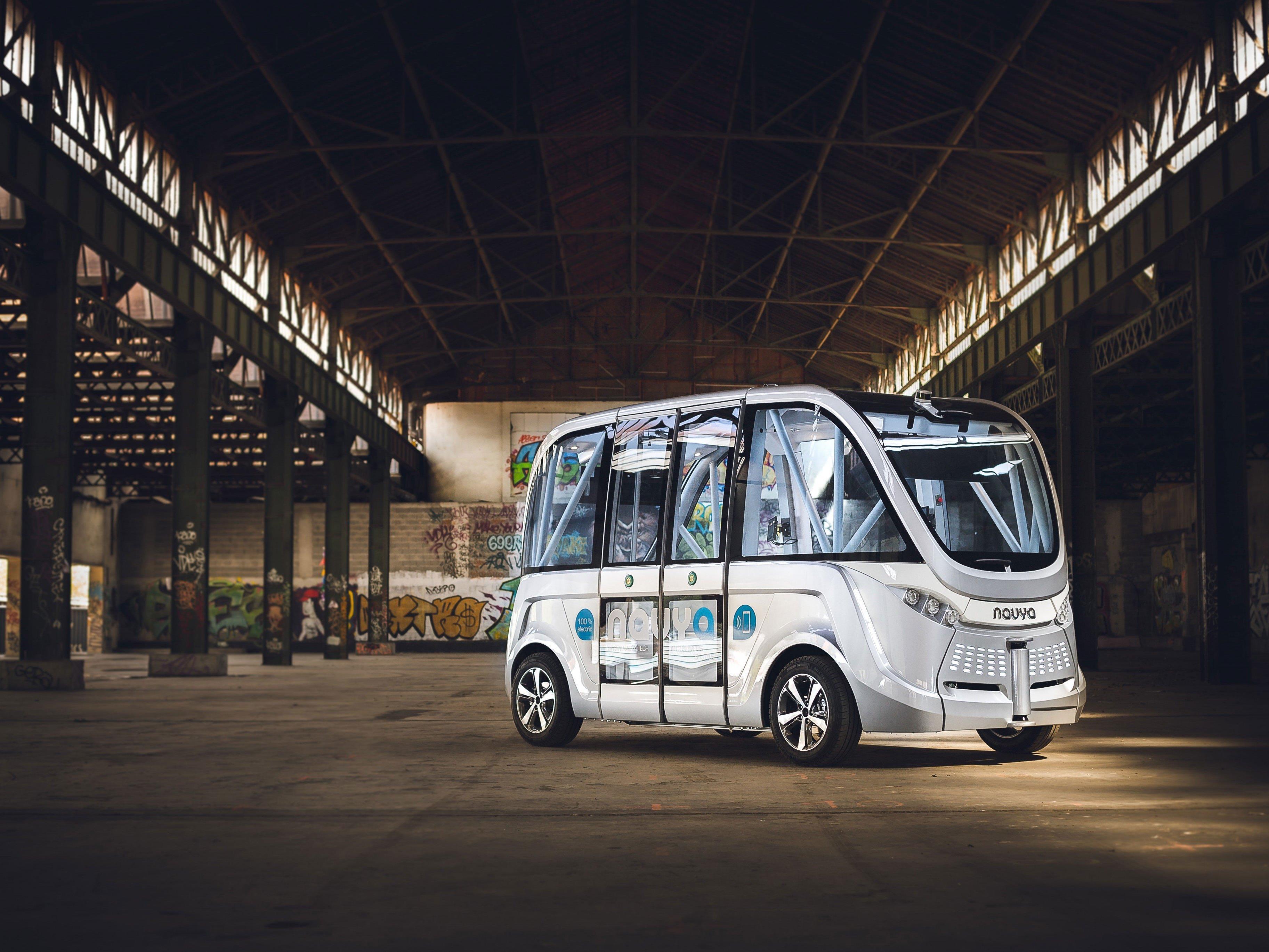 """Diese Busse sollen künftig in der """"Seestadt"""" in Aspern unterwegs sein"""