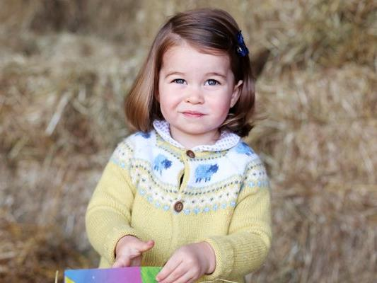 Prinzessin Charlotte feiert am 2. Mai ihren 2. Geburtstag.