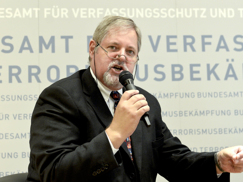 Peter Gridling, Chef des Bundesamts für Verfassungsschutz und Terrorismusbekämpfung (BVT), sprach über drohenden Terror