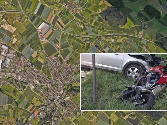 Ein 51-jähriger Lauteracher ist am Freitag Nachmittag auf der B 31 bei Kressbronn mit seinem Motorrad tödlich verunglückt.