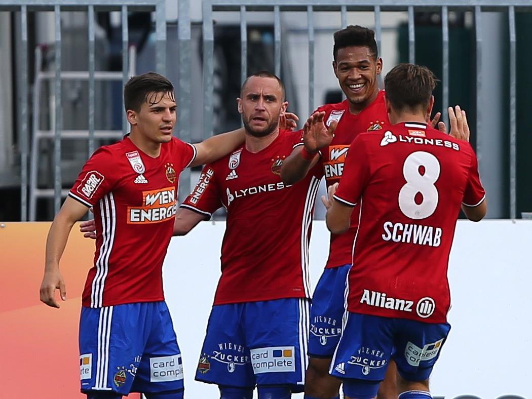 Rapid Wien konnte sich gegen Mattersburg mit 3:1 durchsetzen.