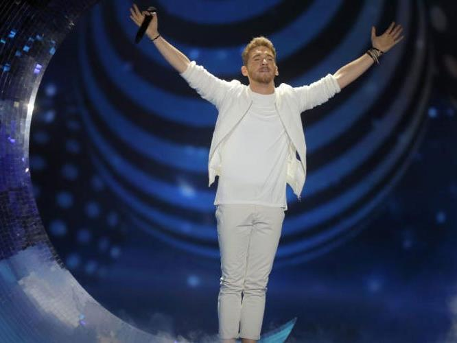 Nathan Trent ist im ESC-Finale in Kiew dabei!