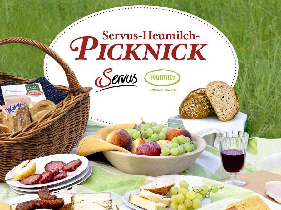 Das Servus-Heumilch-Picknick findet am 27. Mai im Augarten in Wien statt.