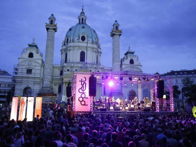 Das Wiener Popfest ist auch heuer wieder am Start.