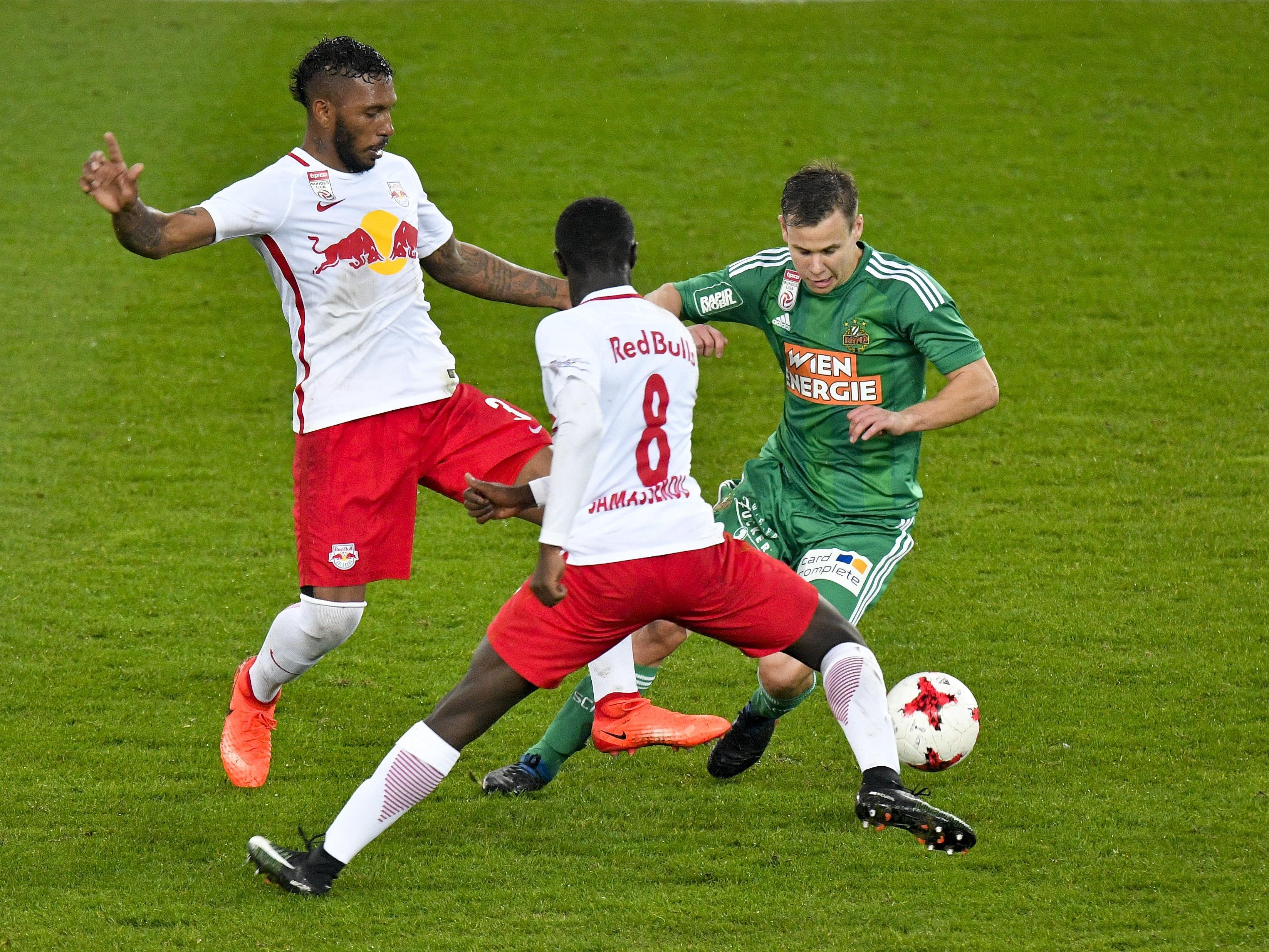 Rapid und Salzburg im brisanten Cupfinale.