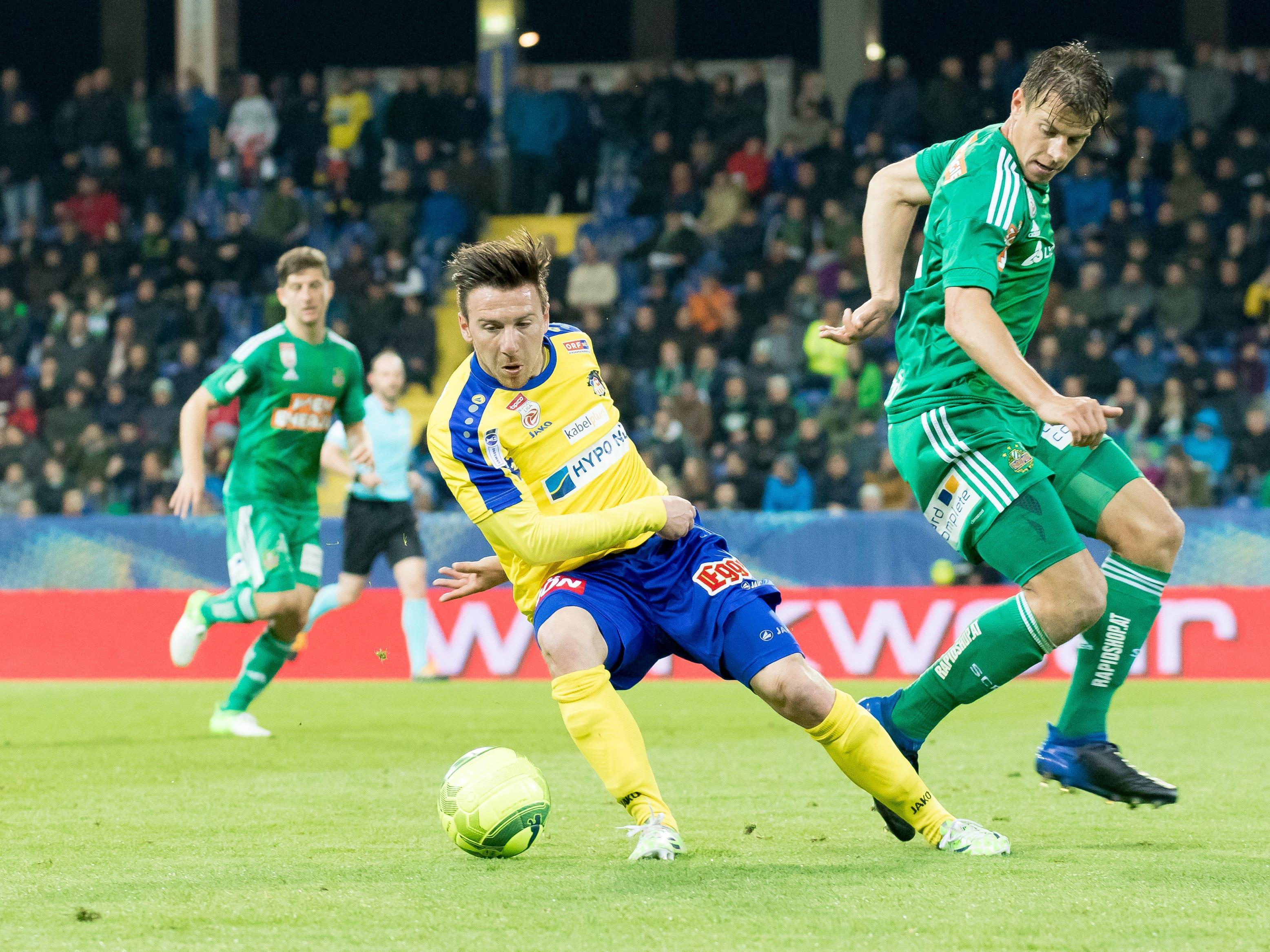 Rapid empfängt zum Saisonabschluss den SKN St. Pölten.