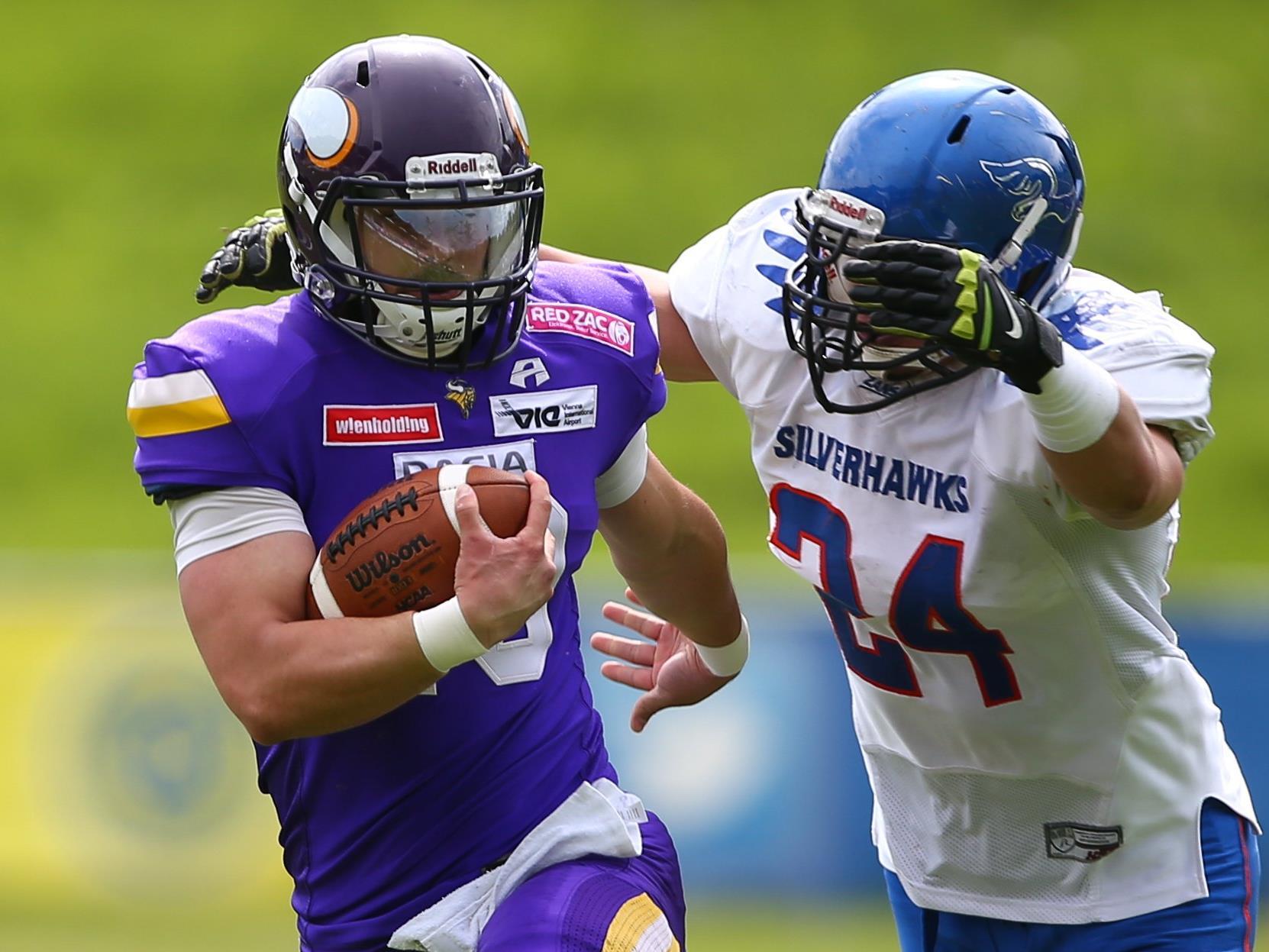 Die Vienna Vikings gewannen den Schlagabtausch mit den Ljubljana Silverhawks.
