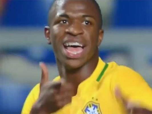 Vinicius Junior wird nicht sofort zu Real wechseln.