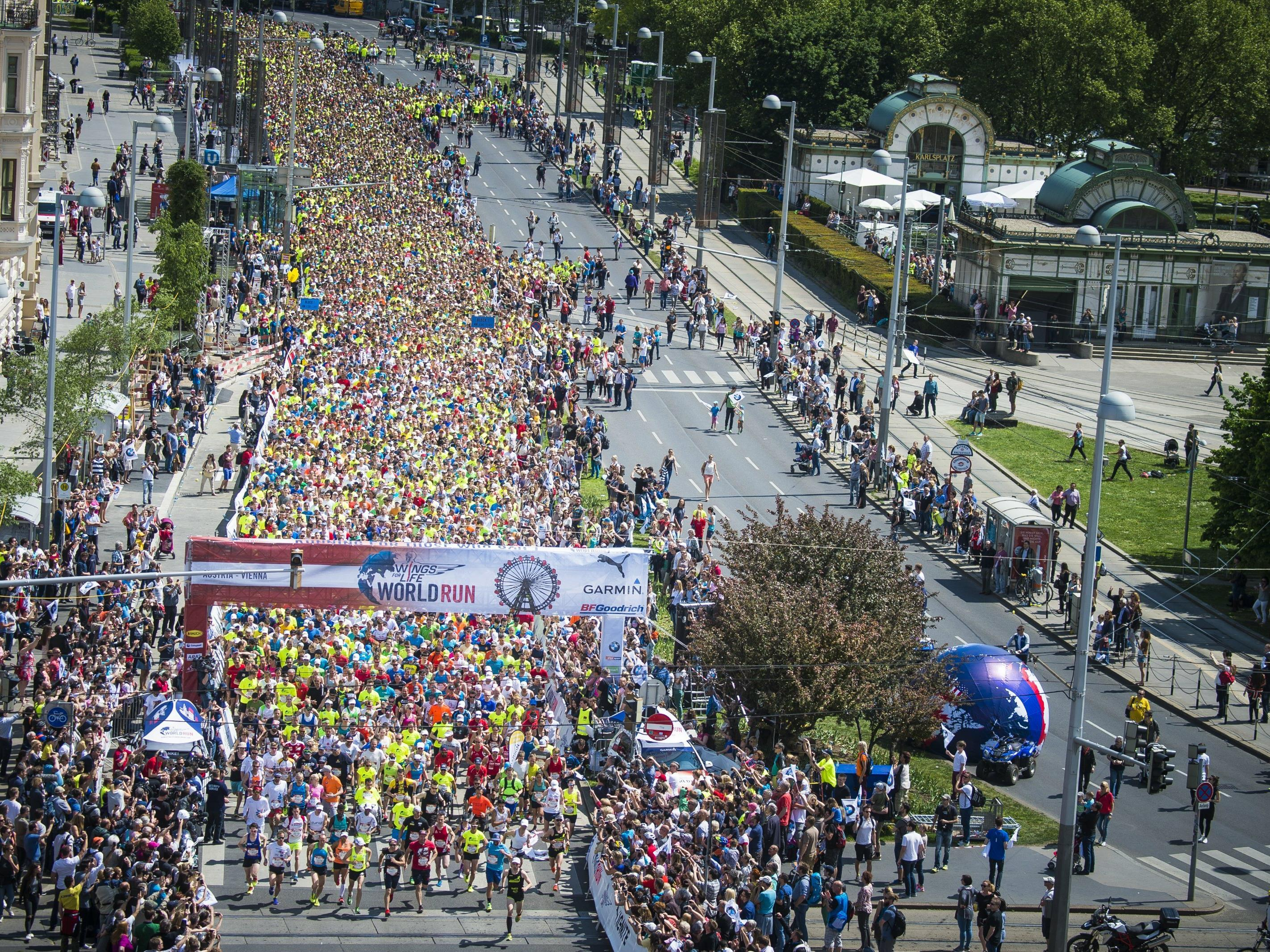 Auch in Wien werden dieses Jahr wieder Tausende Läufer erwartet.