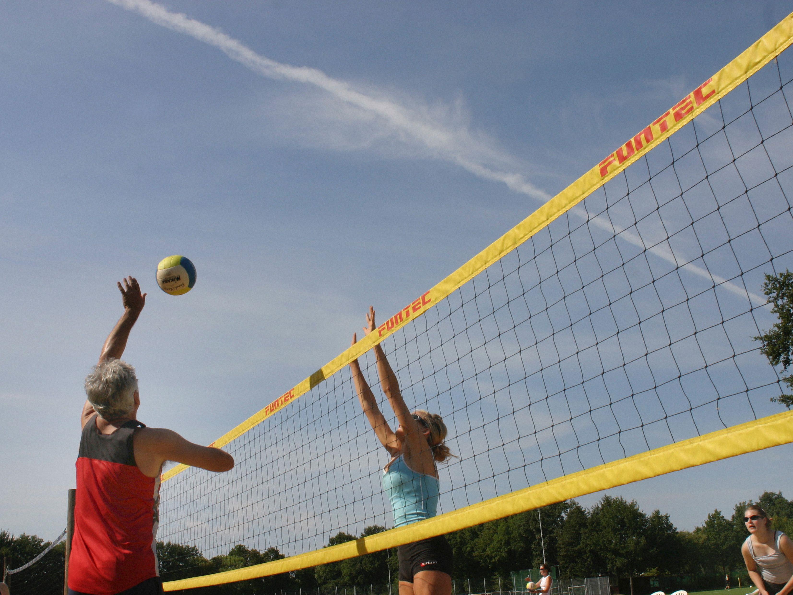 Beach-Volleyball erfreut sich auch in Wien großer Beliebtheit.