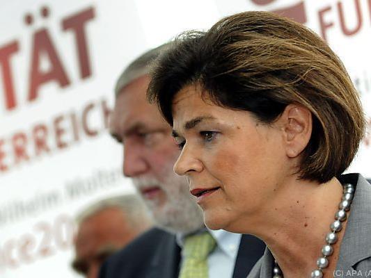 Bettina Glatz-Kremsner wird eine von drei Stellvertreterinnen
