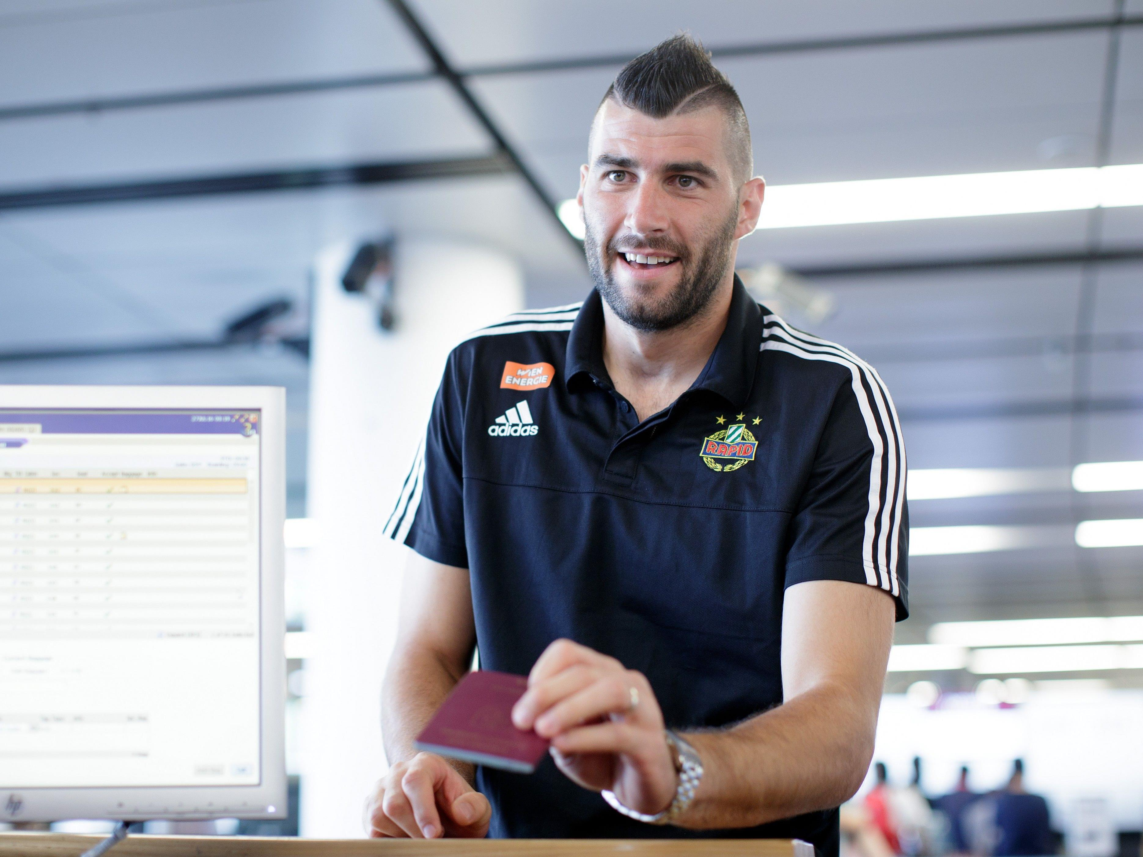 Ján Novota verlässt Rapid in Richtung Debrecen.