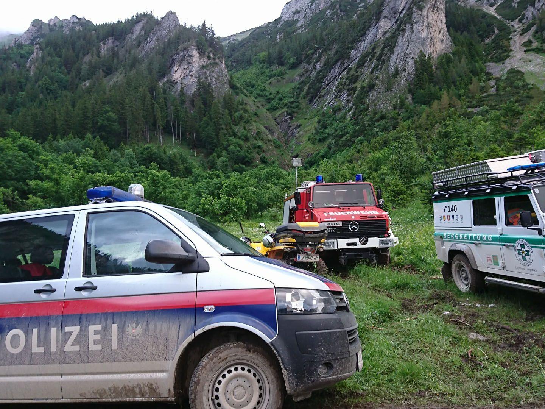 In Trofaiach stürzten zwei Menschen in den Tod.