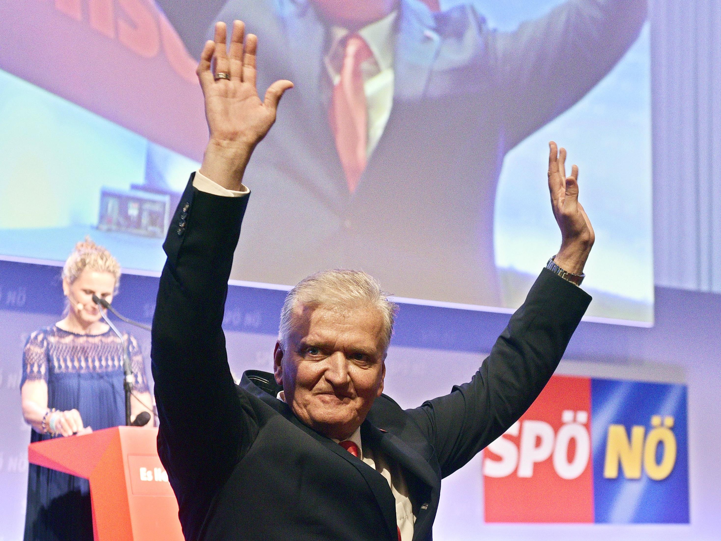 Franz Schnabl wurde mit überzeugender Mehrheit zum Landesparteivorsitzenden der SPÖ NÖ gewählt.