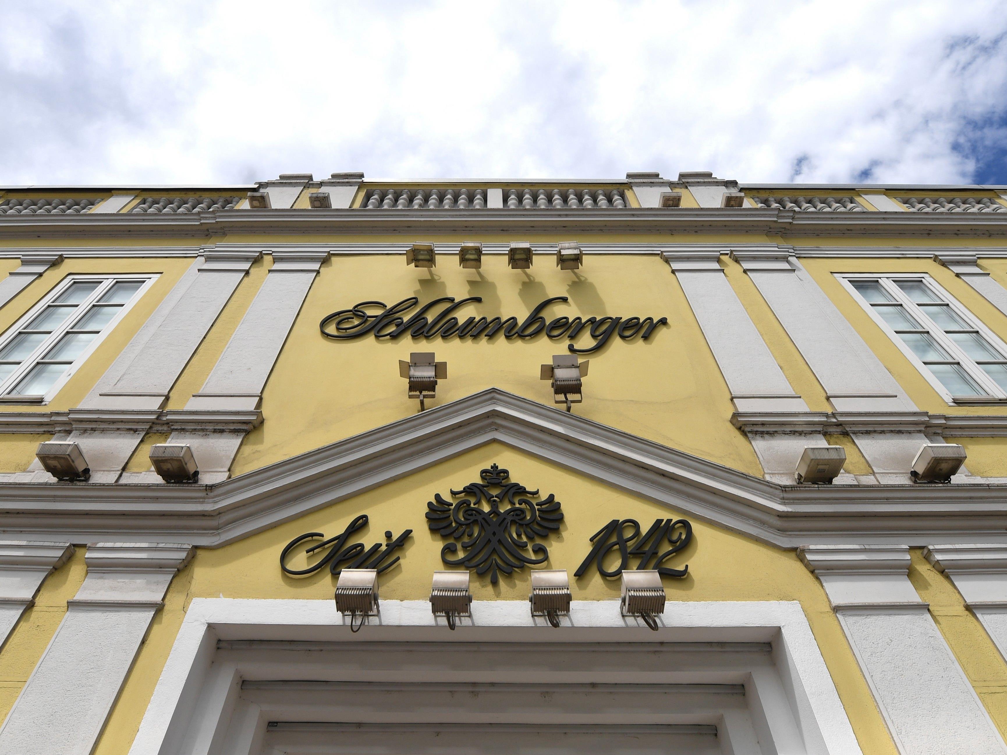 Der Firmensitz der Sektkellerei Schlumberger in Wien