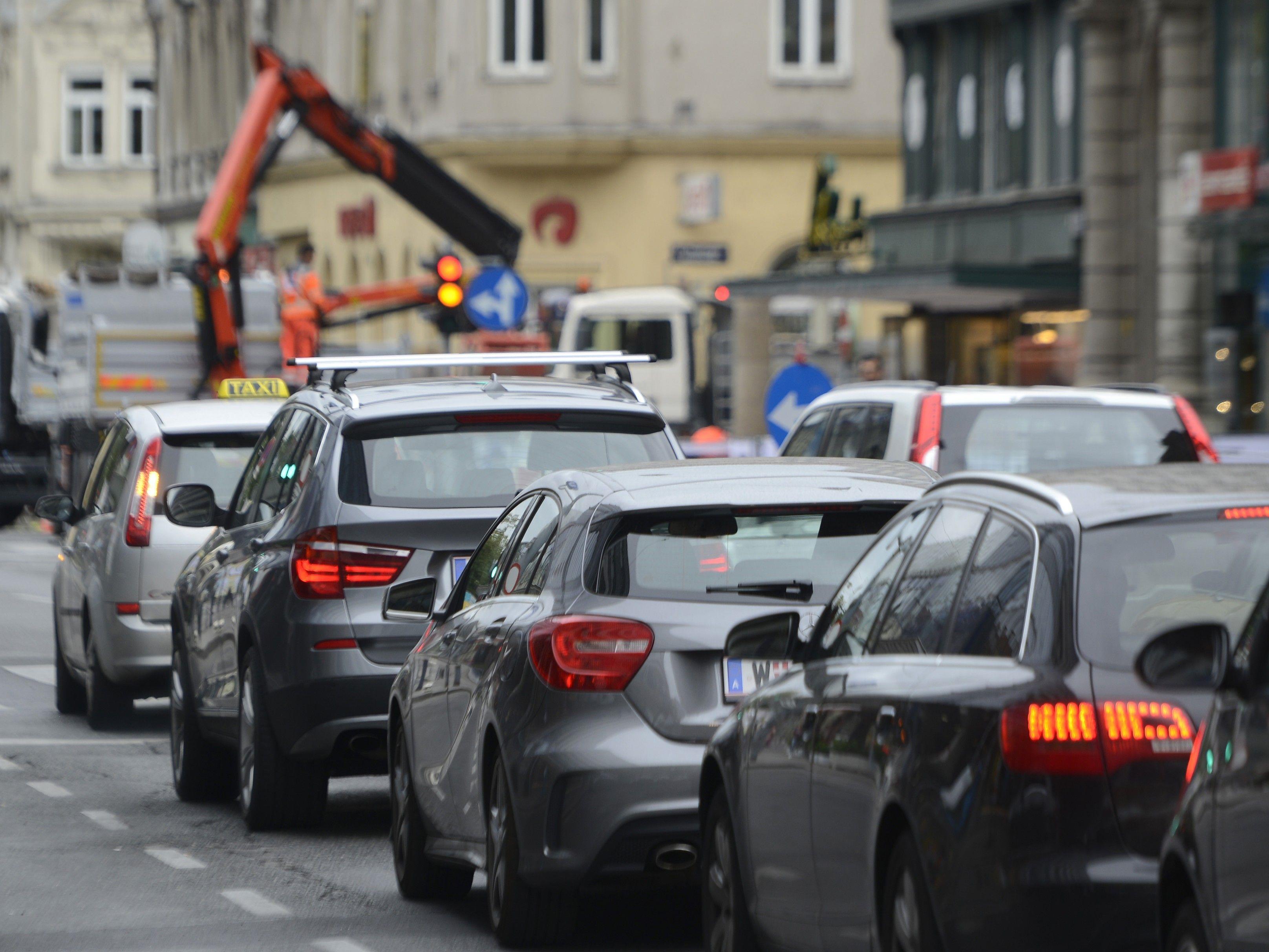 Mühsamer Weg ins verlängerte Wochenende in Wien.