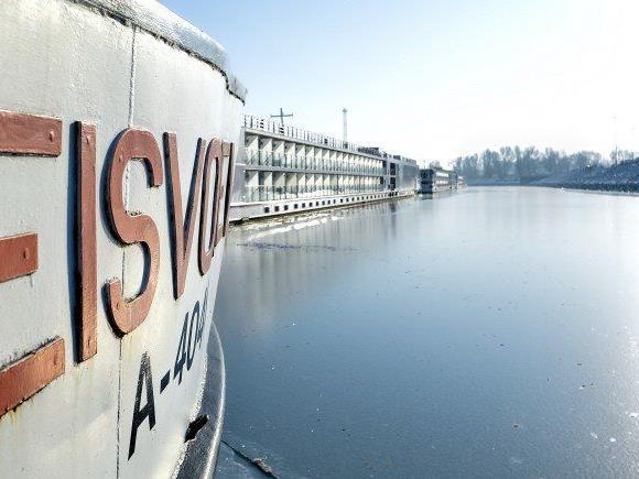 2016 war ein gutes Jahr für den Wiener Hafen.