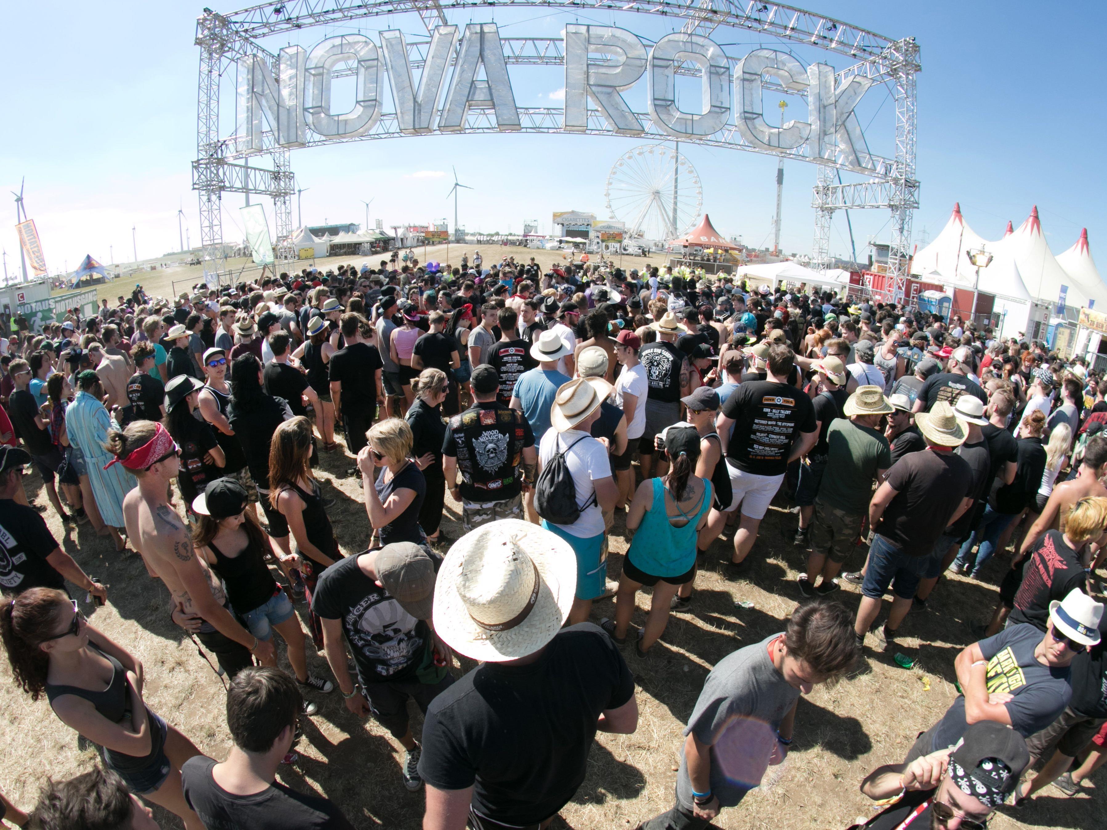 Am Mittwoch startete das Nova Rock Festival 2017.