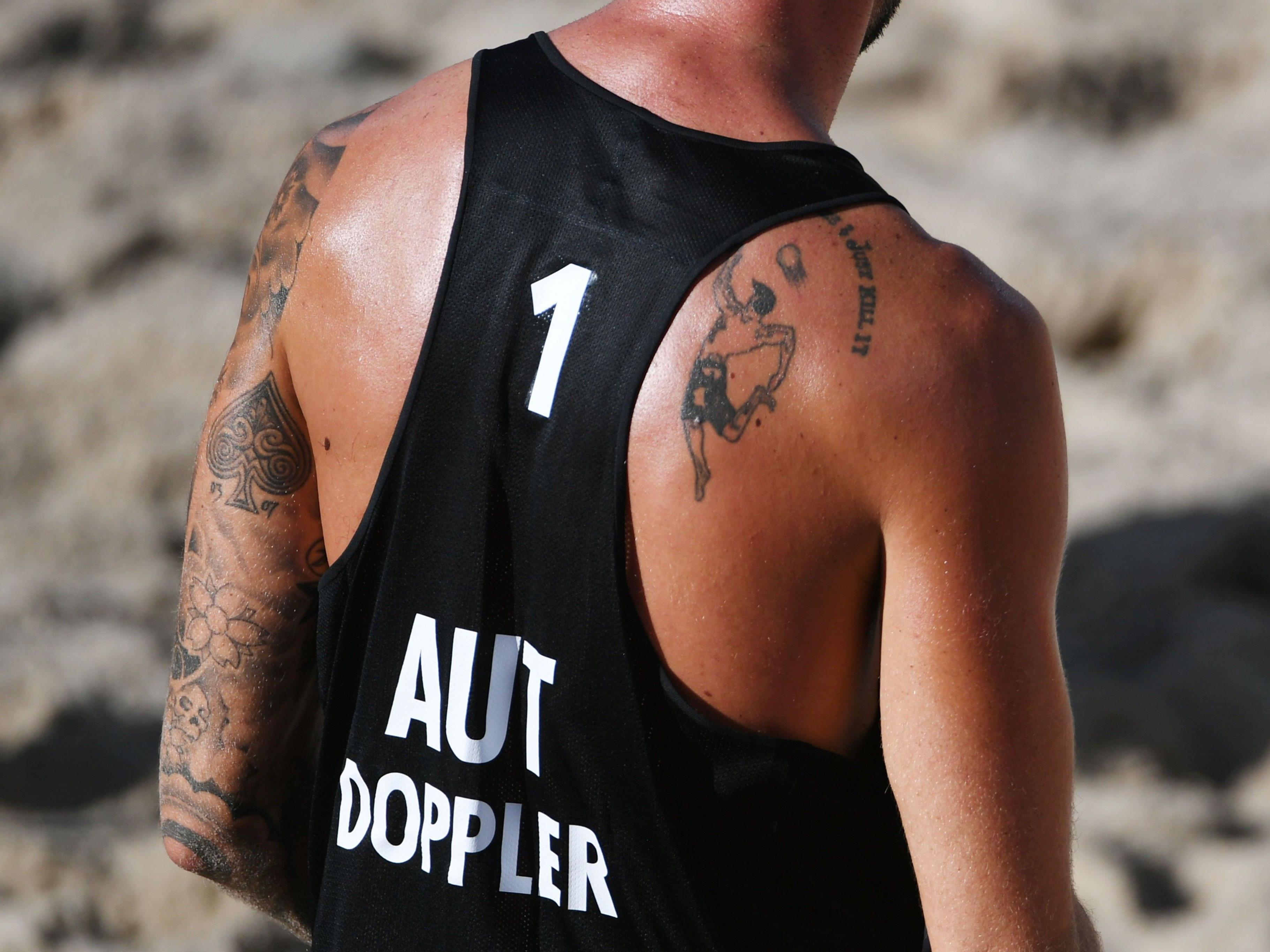 Die österreichischen BEach Volleyballer erwischten in Porec einen Straumstart.