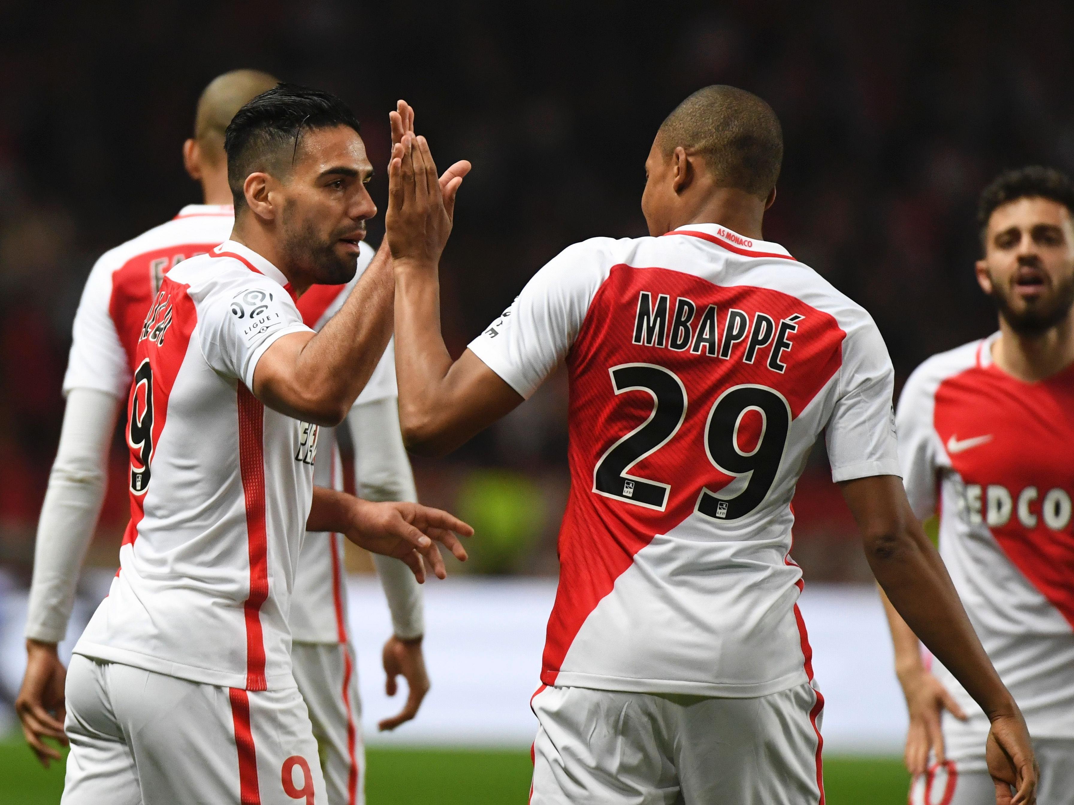 Superstars wie Radamel Falcao, Kylian Mbappe oder Joao Moutinho könnten im Allianz Stadion zu sehen sein.