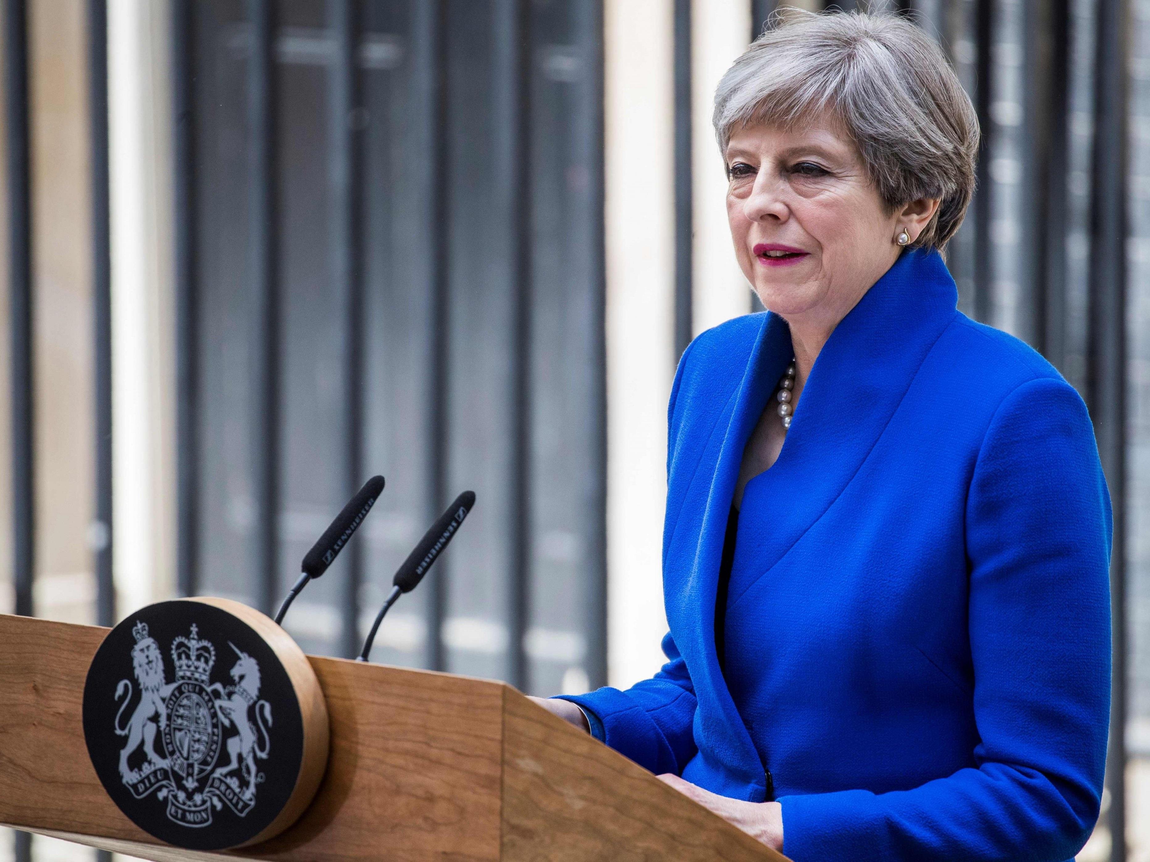 Auch Theresa May muss sich die Frage stellen lassen, wie es mit den Brexit-Gesprächen weitergeht.
