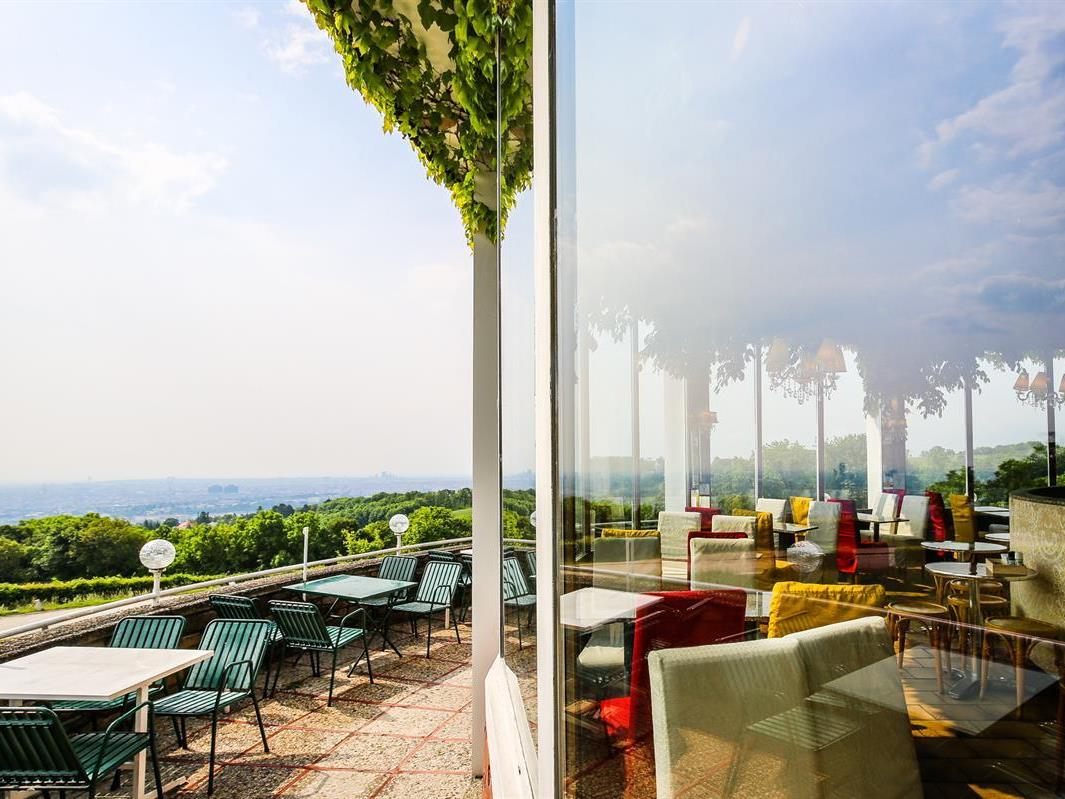 Das Café Cobenzl wird an den Sommer-Wochenenden zur Picknick-Oase.