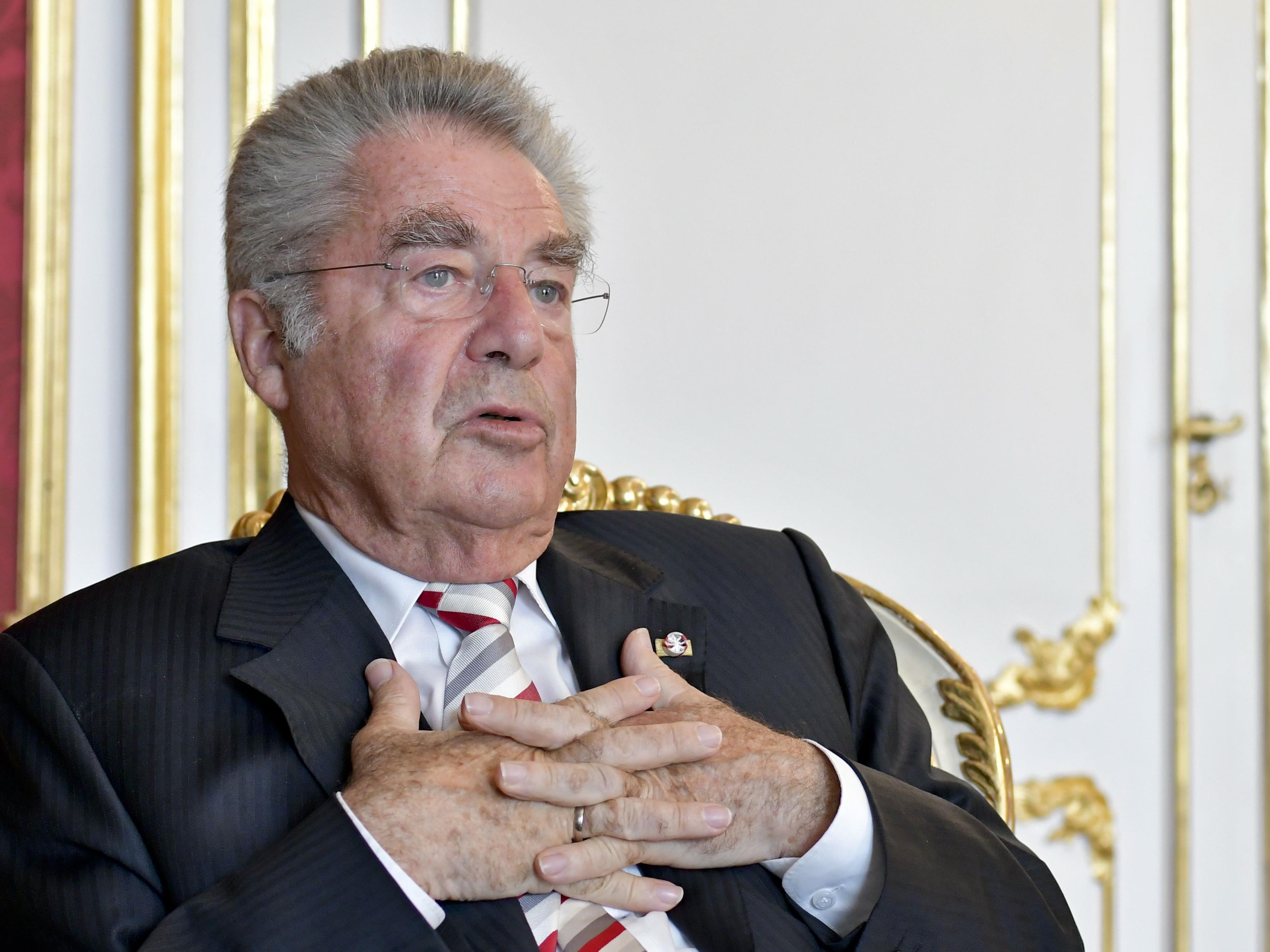 Bundespräsident a. D. Heinz Fischer war zu Gast in der ZIB 2