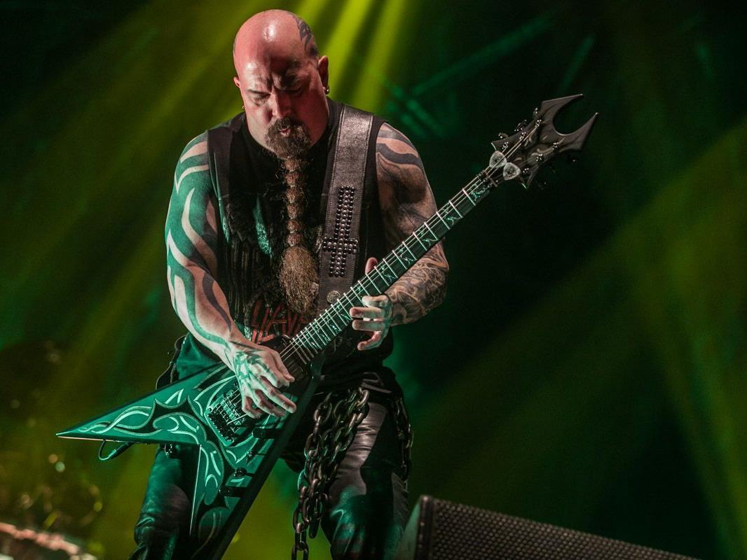 Slayer gaben beim Nova Rock alles.
